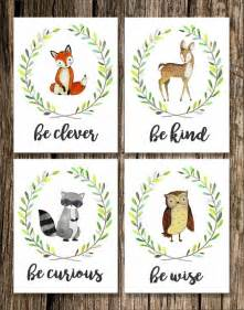 Woodland Creatures Nursery Decor by Best 25 Woodland Animal Nursery Ideas On