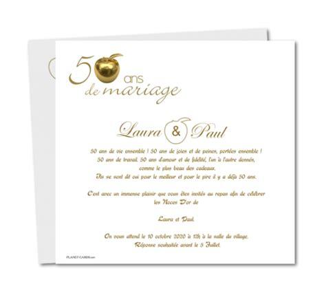 modele lettre 50 ans mariage document