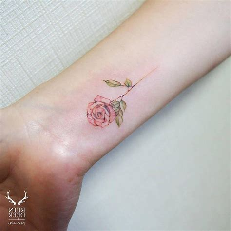 small rose tattoos on ankle best tattoo design