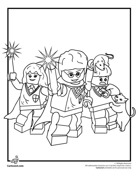 coloring pages harry potter lego lego coloring pages lego harry potter coloring page