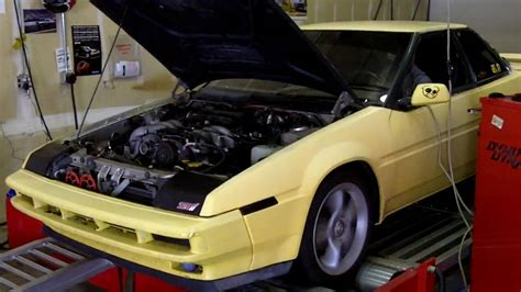 subaru xt 1989 1989 subaru xt 6 with ez30 front view second run youtube