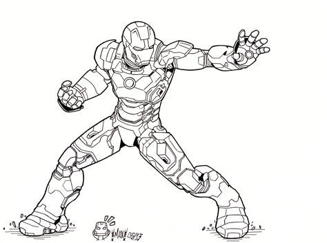 iron man mark 5 coloring pages iron man 3 mark xlvii by maxanimes on deviantart
