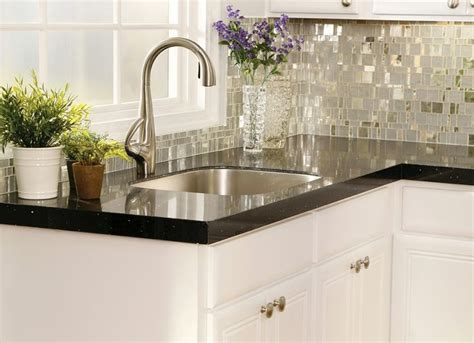 recycled marble countertops exciting uba tuba granite with white cabinets ideas