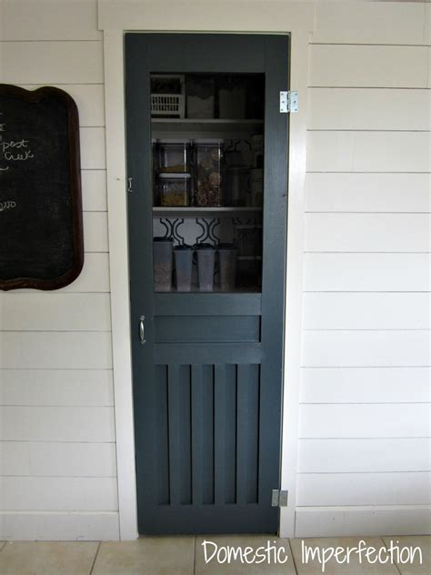 Screen Pantry Door by Diy Screen Door For The Pantry Domestic Imperfection