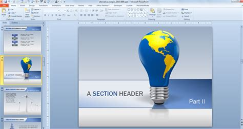 Animated Powerpoint Templates For Presentations On Renewable Energies Powerpoint Presentation Animated Ppt Templates Free For Project Presentation