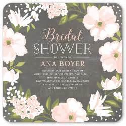 beautiful bouquet 5x5 stationery bridal shower invitations
