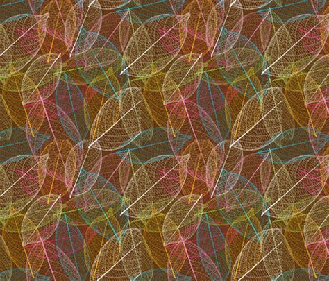nature pattern fabric retro autumn leaf nature pattern littlesmilemakers