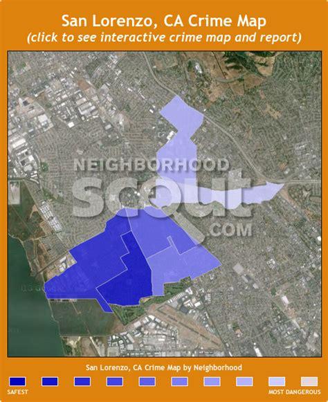 san jose crime reports map san lorenzo crime rates and statistics neighborhoodscout
