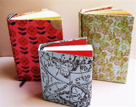 How To Make A Small Book Out Of Paper - card stock 11 creative and diy notebooks