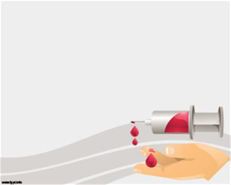 Blood Donation Powerpoint Design Bestppts Blood Donation Ppt Template Free