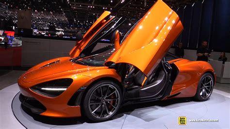 orange mclaren interior 2018 mclaren 720s exterior and interior walkaround