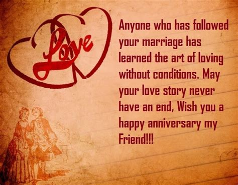 Wedding Anniversary Quotes For by Wedding Anniversary Cards Quotes For Best Friend Best Wishes