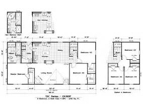 Ranch Homes Floor Plans mobile home floor plans ranch metal building homes