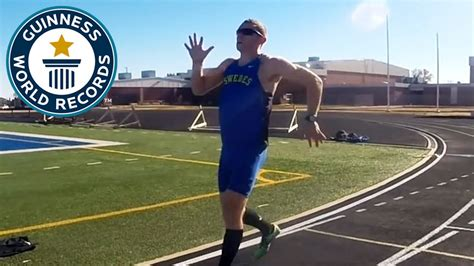 Mile Records by Fastest Run Backwards One Mile Guinness World Records
