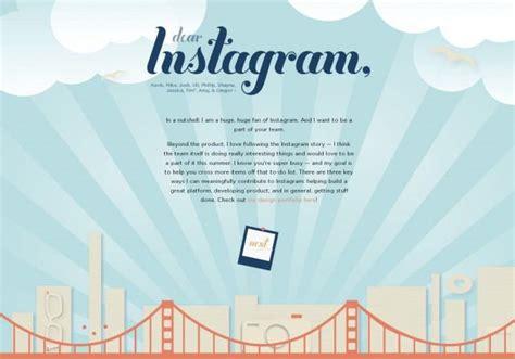 Design Letters Instagram | 6 creative cover letters for job app inspiration