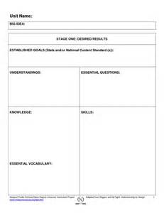 backward planning template scope of work template
