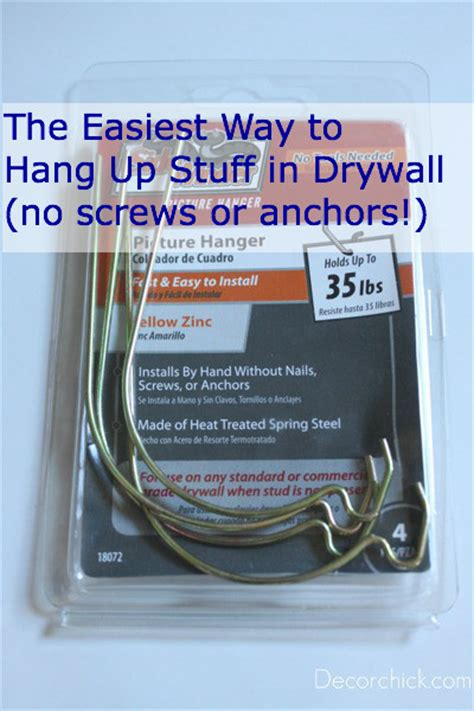 hang items on wall without nails the best trick tool to hang stuff on drywall and sheetrock