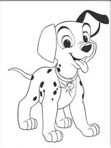 free coloring sheets dalmation coloring pages free