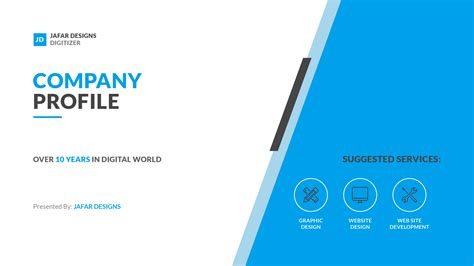 Company Templates company profile keynote template by jafardesigns