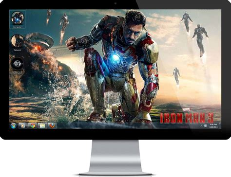 firefox iron man themes download iron man 3 theme for windows 7 and 8 with hd