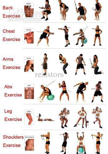 Galerry printable exercise band workouts