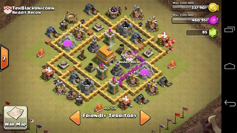 layout coc war base th6 base strong war bases for various th levels muppetmadness