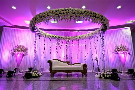 Indian Muslim Wedding Décor   Wedding Decorations, Flower