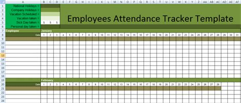 Employee Attendance Tracking Spreadsheet by Class Attendance Spreadsheet Templates Excel Excel Spreadsheet Templates