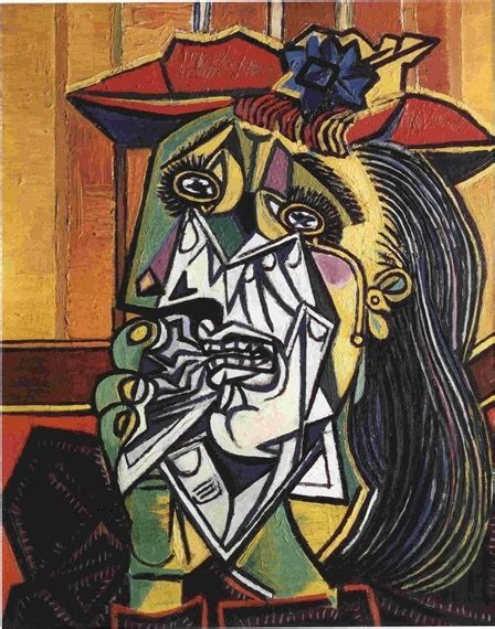 picasso paintings the weeping pablo picasso weeping 1937 1
