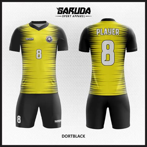 Kaos Futsal Desain Sendiri desain kaos seragam futsal dortblack garuda print
