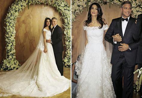 hochzeitskleid amal clooney amal clooney hochzeitskleid brides bridemaids pinterest