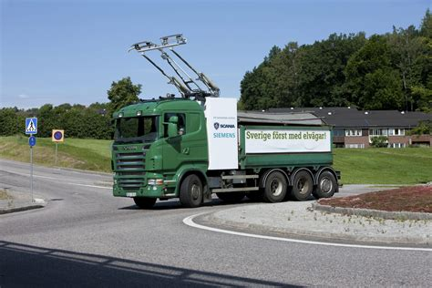 scania truck electric truck for alternative ore transportation scania