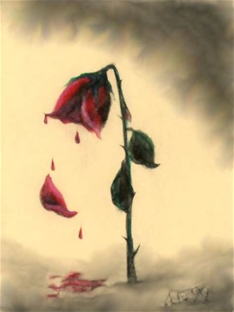 Dying To Or Falling dead petals falling www pixshark images
