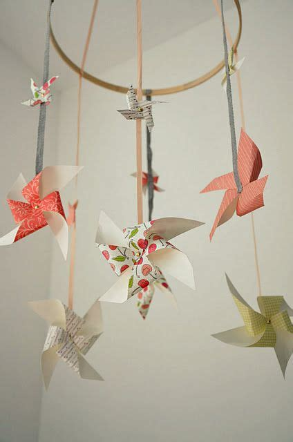 How To Make A Paper Mobile For Nursery - 25 best ideas about baby mobiles on