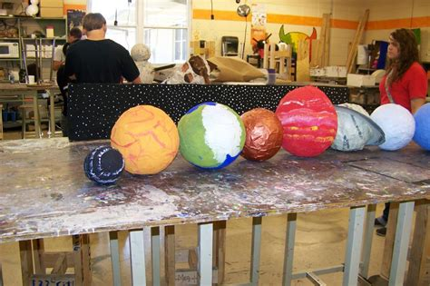How To Make Paper Mache Planets - paper mache venus planet pics about space