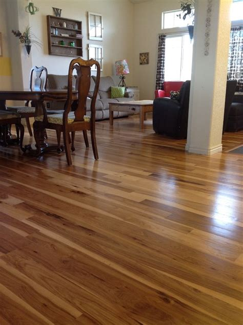 can you mix hardwood flooring in a house hickory flooring traditional family room denver by
