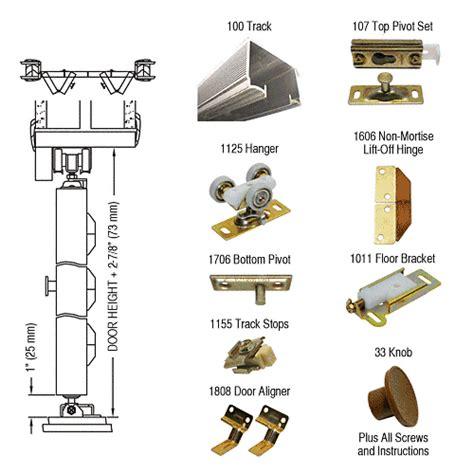 French Patio Door Locks Crl 100fd604 Bi Fold Hardware 4 Door Set Builderssale Com