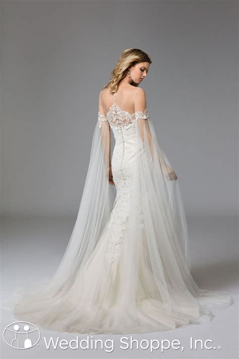 hochzeitskleid cape wtoo bridal gown ellie cape only 17902 wed