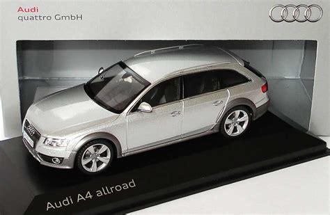 1:43 Audi A4 allroad 3.0 TDI quattro eissilber met. Werbemodell Schuco 5010904613