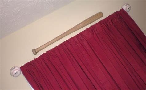 baseball bat curtain rod 72 best images about baseball room ideas on pinterest