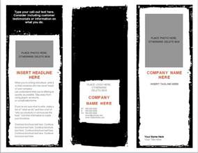 Word Templates For Brochures word brochure template brochure template word