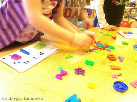 words from these letters kindergarten word work manipulative ideas kindergartenworks 1731