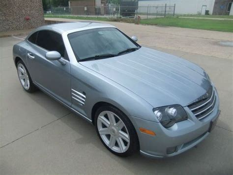 crossfire seats buy used 2005 chrysler crossfire limited coupe leather