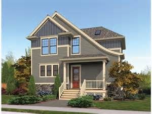 House Plans Sloped Lot Eplans Craftsman House Plan Sloping Roof Accentuates