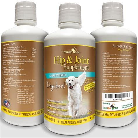 joint supplements for dogs hip joint supplement for dogs terramax pro