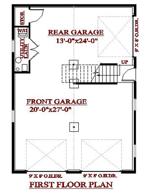 3 bay garage plans cadsmith 3 bay garage with 2 bedroom apartment over plan