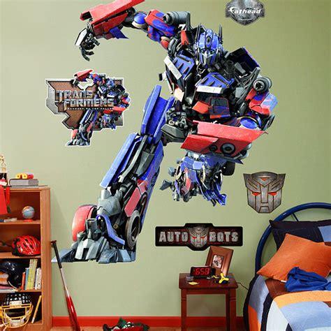 transformers wall stickers fathead optimus prime wall sticker