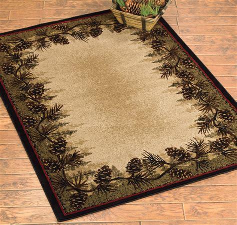 pines rug 8 x 10