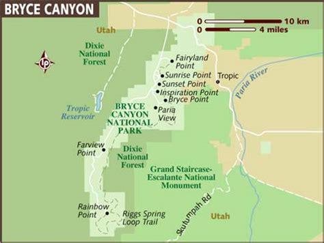 bryce national park map mpk productions llc bryce utah