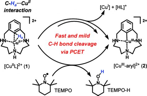 Proton Coupled Electron Transfer by Facile C H Bond Cleavage Via A Proton Coupled Electron